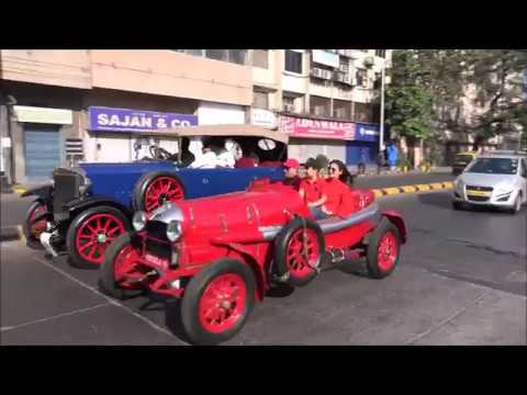 142 in 1 Mega Compilation Of Classic Vintage Cars & Bikes Rally In Mumbai !!!