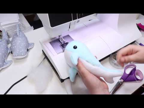 How to Make a Narwhal Plush from My Narwhal Pattern