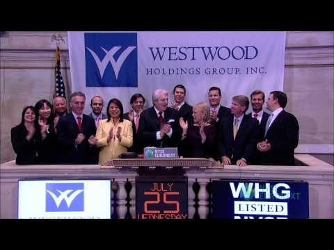 Westwood Holdings Group Celebrates 10 Years of Trading on the NYSE