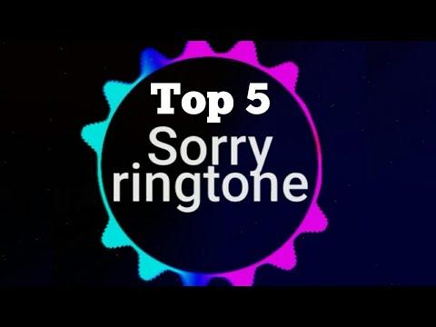 Top 5 Sorry Ringtone Justin Bieber  Remix  Iphone  Marimba  Download  Ringtones Official