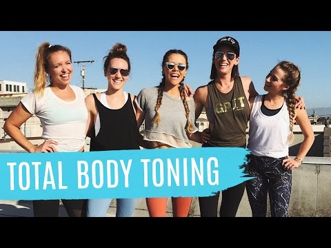 LIVE Rooftop Total Body Workout! Tone & Sculpt Every Inch of Your Beautiful Bod!