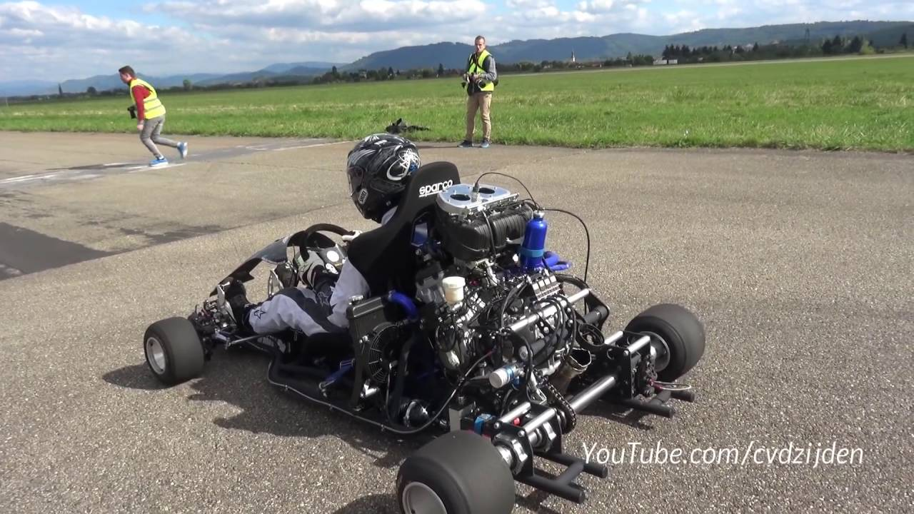 230hp Race Go Kart Vs Cars