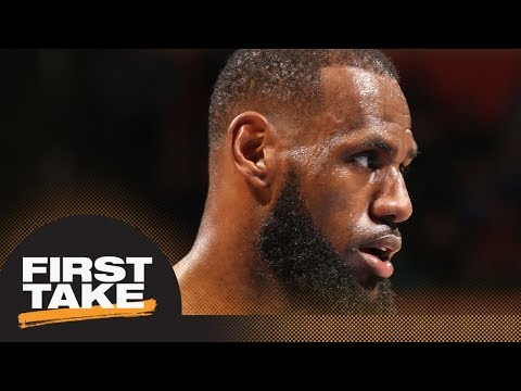 Stephen A. Smith gives LeBron James no shot to win regular season MVP | First Take | ESPN