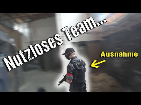 Nutzloses Team...   Highlander Airsoft un-Funny Moments CQB Gameplay Lauterbach