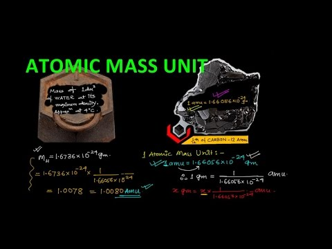ATOMIC MASS UNIT || NCERT Class XI || JEE || NEET |