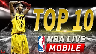 KYRIE IRVING TOP 10 PLAYS | FEBRUARY 2017 | NBA LIVE MOBILE GAMEPLAY