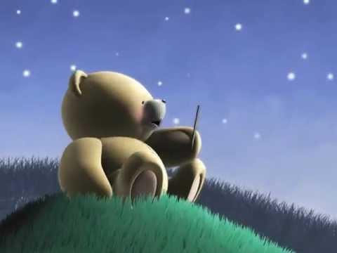 Teddy Bear on a Hill - I love you :) - Aysima