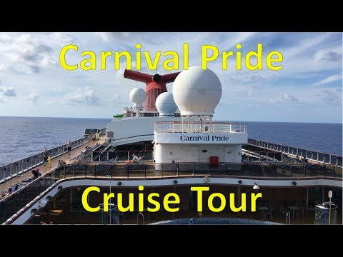 Carnival pride itinerary july