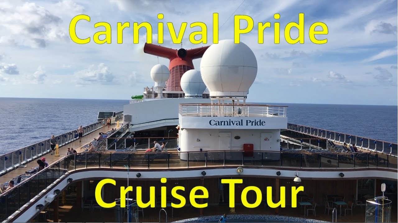 Carnival Pride FULL SHIP TOUR Departure From Port Of - Cruise ships that leave from baltimore md