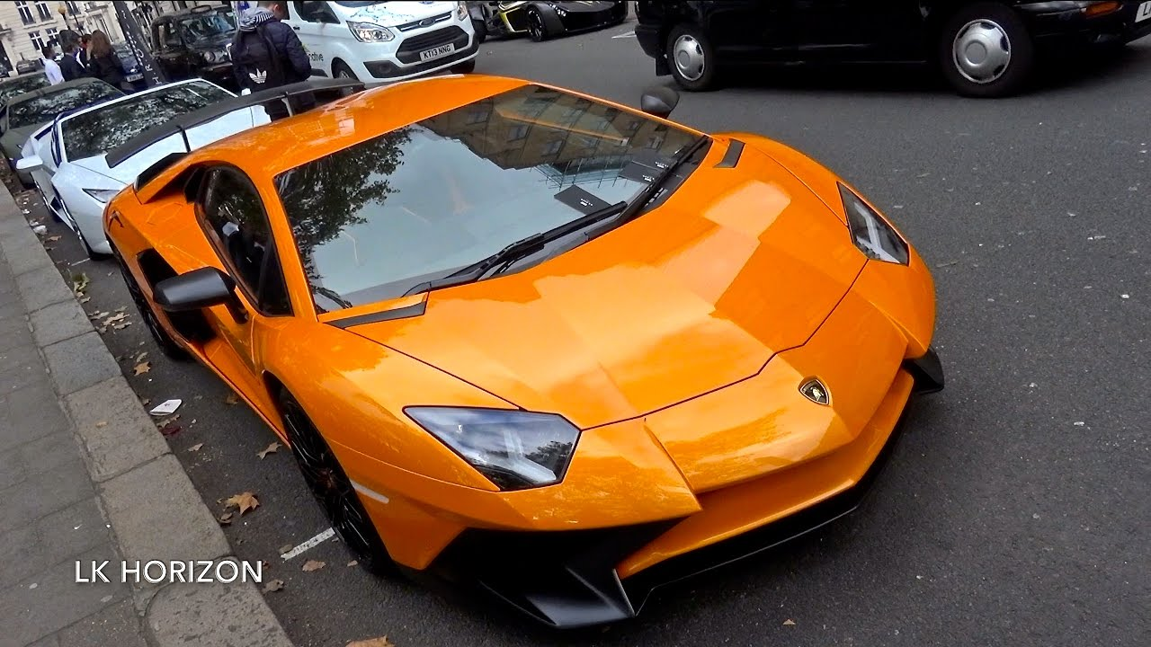 Lamborghini Aventador SV LP750-4 - Insane Revs For 5Mins!!