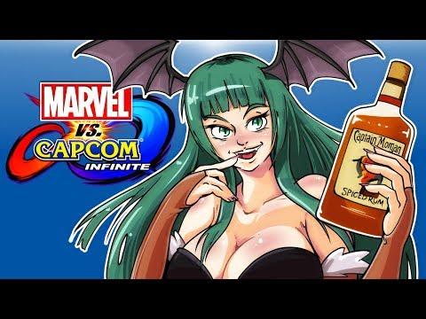 Marvel vs. Capcom Infinite - CAPTAIN MORGAN HAS ARRIVED! (H2O Vs Cartoonz!)