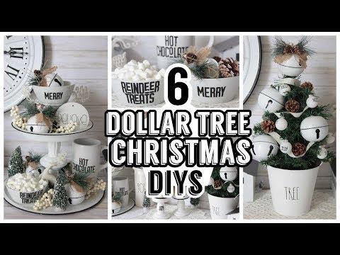 6 DOLLAR TREE CHRISTMAS FARMHOUSE ENAMEL DIYS 2019