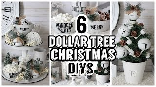 6 DOLLAR TREE CHRISTMAS FARMHOUSE ENAMEL DIYS 2019