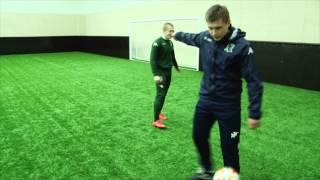 Тренер VS. воспитанник: футбольный фристайл