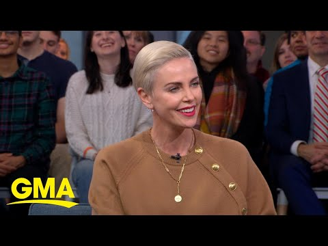 Charlize Theron reacts to Megyn Kelly's take on 'Bombshell' l GMA