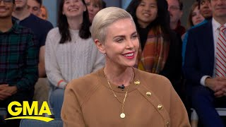 Gambar cover Charlize Theron reacts to Megyn Kelly's take on 'Bombshell' l GMA
