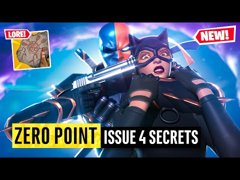Batman Fortnite Zero Point Issue 4 | Easter Eggs and Details You Missed