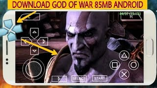 [85MB] How To Download & Play God Of War : Chains Of Olympus For Android. God of War ppsspp 2018