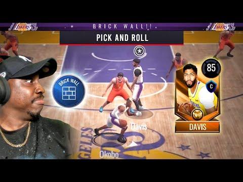 PICK & ROLL TUTORIAL + BRICK WALL X-FACTOR! NBA Live Mobile 20 Season 4 Gameplay Ep. 3
