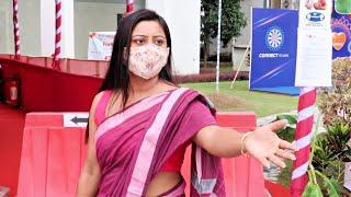 2020 Durga Puja Ka Pehla Din Hamare Society Me || Ab Kaise Karu Puja Me Healthy Weight Loss