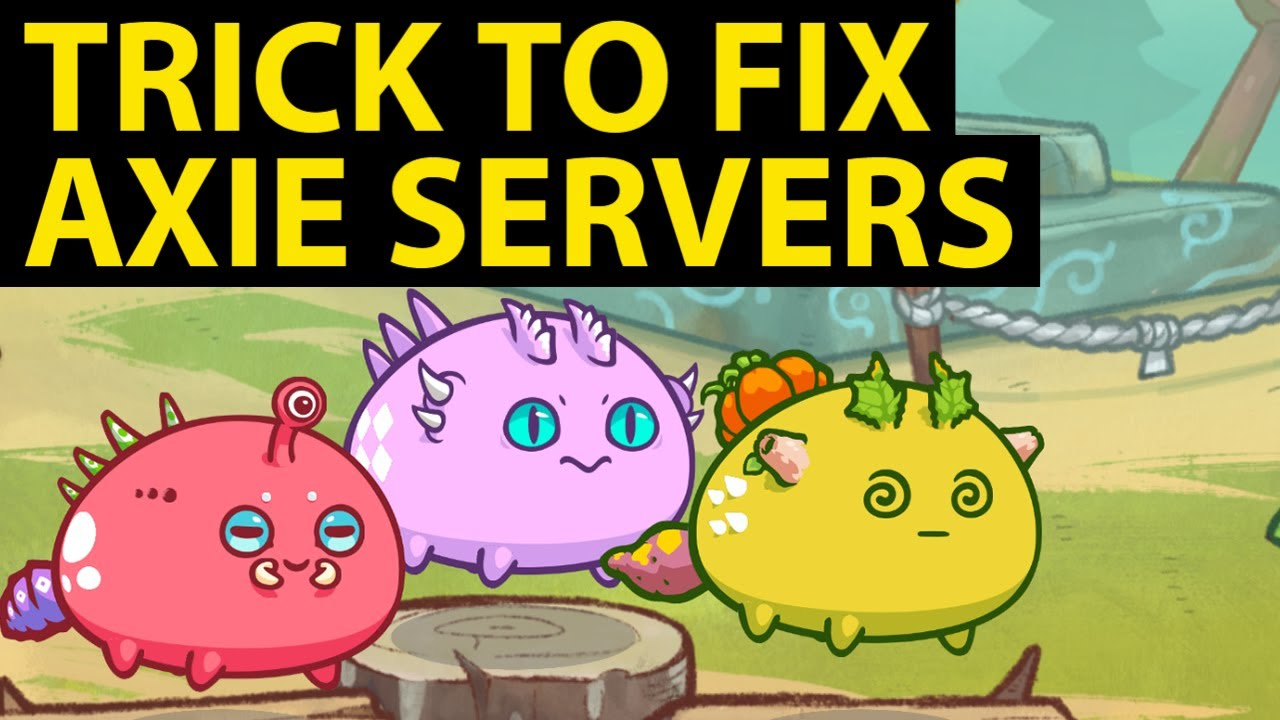 How to FIX Axie Infinity Server Lag Disconnect issue