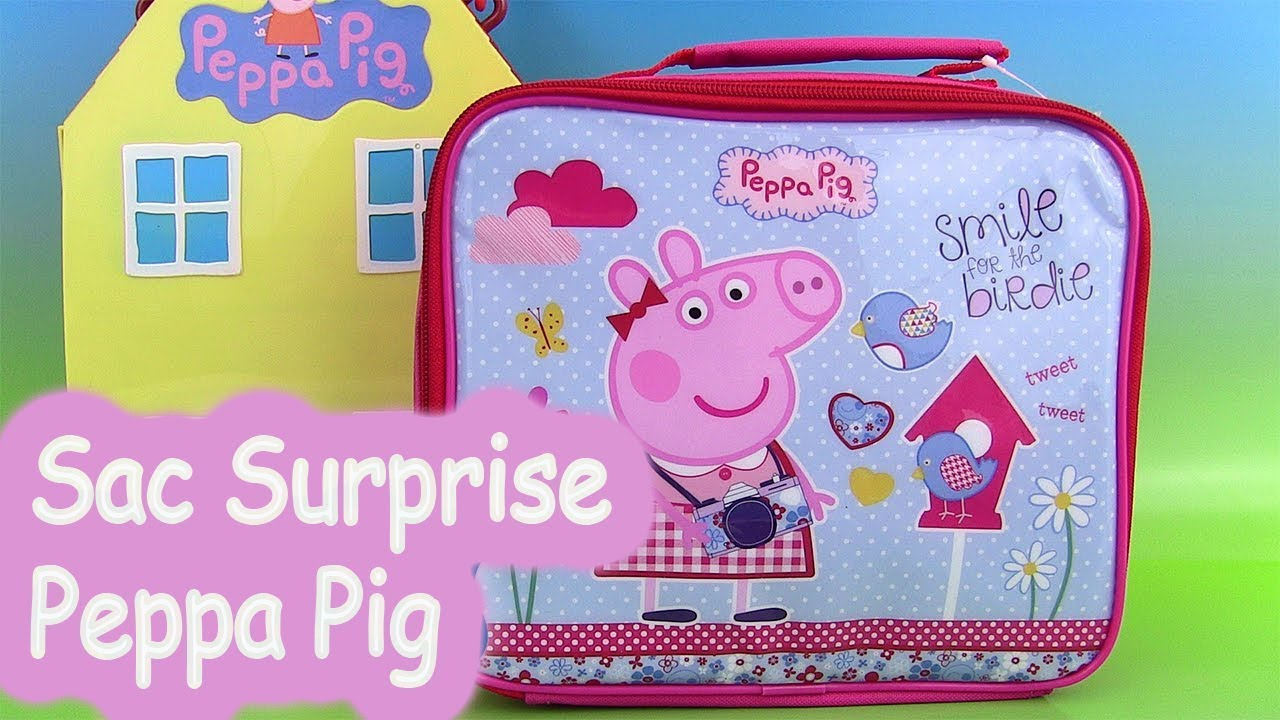 peppa pig oeufs surprise clay buddies sac repas p te. Black Bedroom Furniture Sets. Home Design Ideas