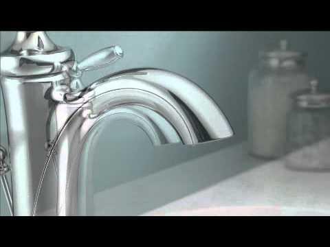 moen brantford one handle low arc bathroom faucet - Moen Brantford