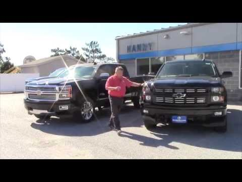 2015 Chevrolet Silverado High Country Vs Midnight Edition For Brian