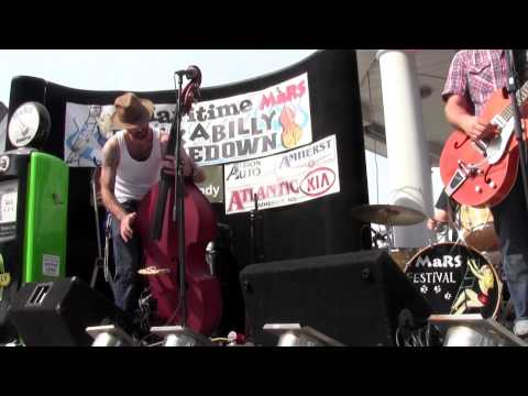 "Dapper Dan & The Drive in Classics ""Derby Girl"" at The Maritime Rockabilly Shakedown Festival 2012"