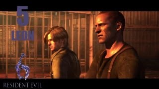 Resident Evil 6 Walkthrough (ITA)- LEON -5- Un vivace primo incontro
