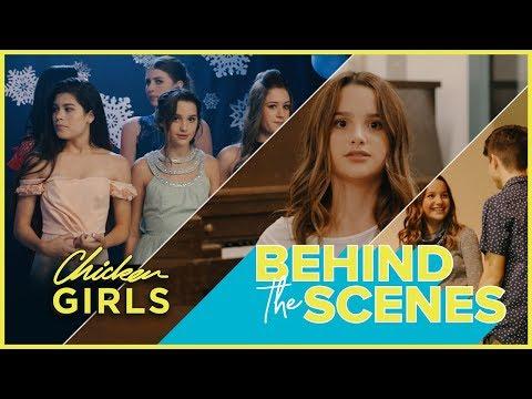 CHICKEN GIRLS 3 | Annie & Hayden | Behind the Scenes