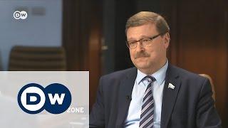 Провокационное интервью DW с Константином Косачевым