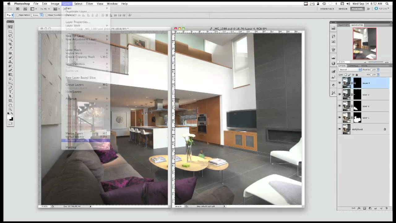 Architecture Photography Interior lighting & photographing a residential interior - youtube