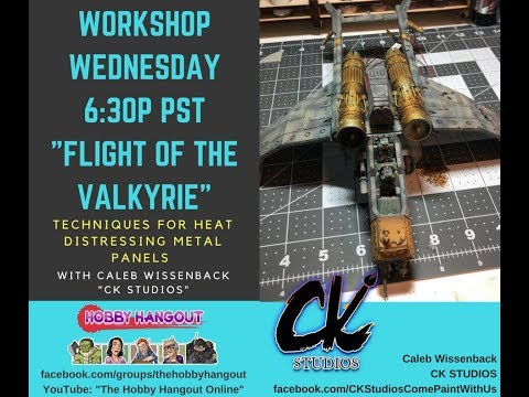 "Workshop Wednesdays: ""Heat Distressing Metals, The Flight of the Valkyrie"" with Caleb Wissenback"