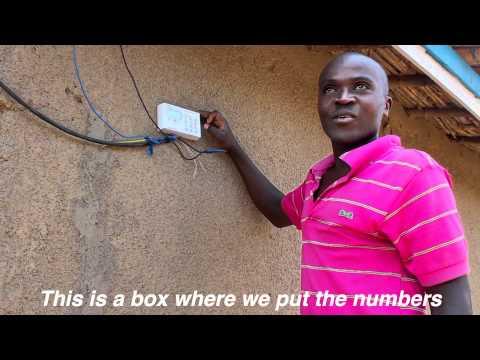 Arrival of Electricity in Rwanda, Africa