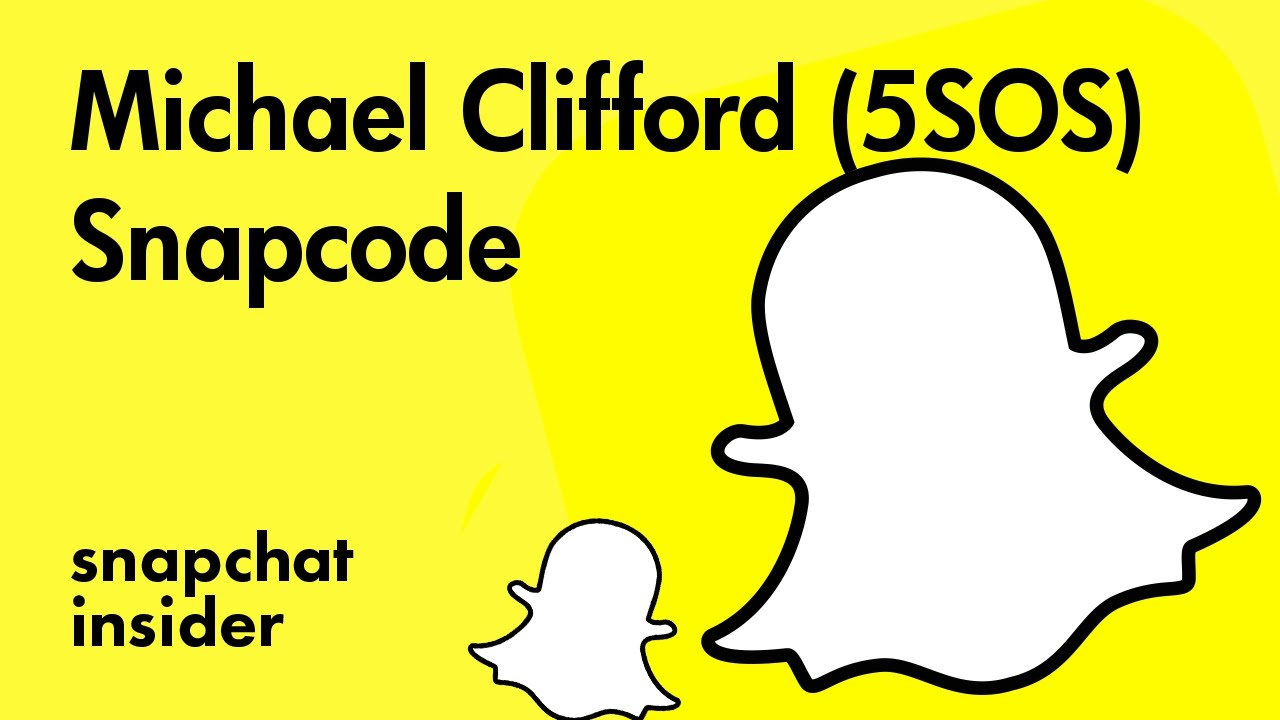 Michael Clifford 5sos Add With Snapchat Snapcode