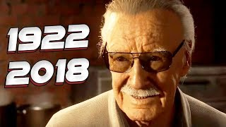 TRIBUTO STAN LEE - TODAS 35 APARIÇÕES INCRÍVEIS DO STAN LEE NO CINEMA