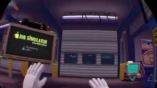 Well.... I have a Job now? (Job Simulator PS4 VR)