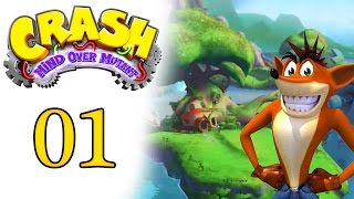 Crash Mind Over Mutant #01 - Série - Gameplay lets play