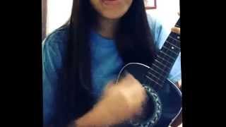 Everything has changed cover ukulele