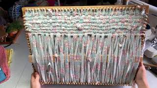 How to Weave with a CraftSanity Placemat Loom