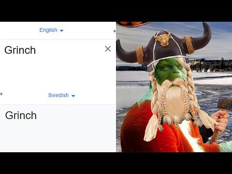 Grinch in different languages meme (Part 2)