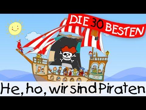 He, ho, wir sind Piraten - Klassiklieder zum Mitsingen || Kinderlieder