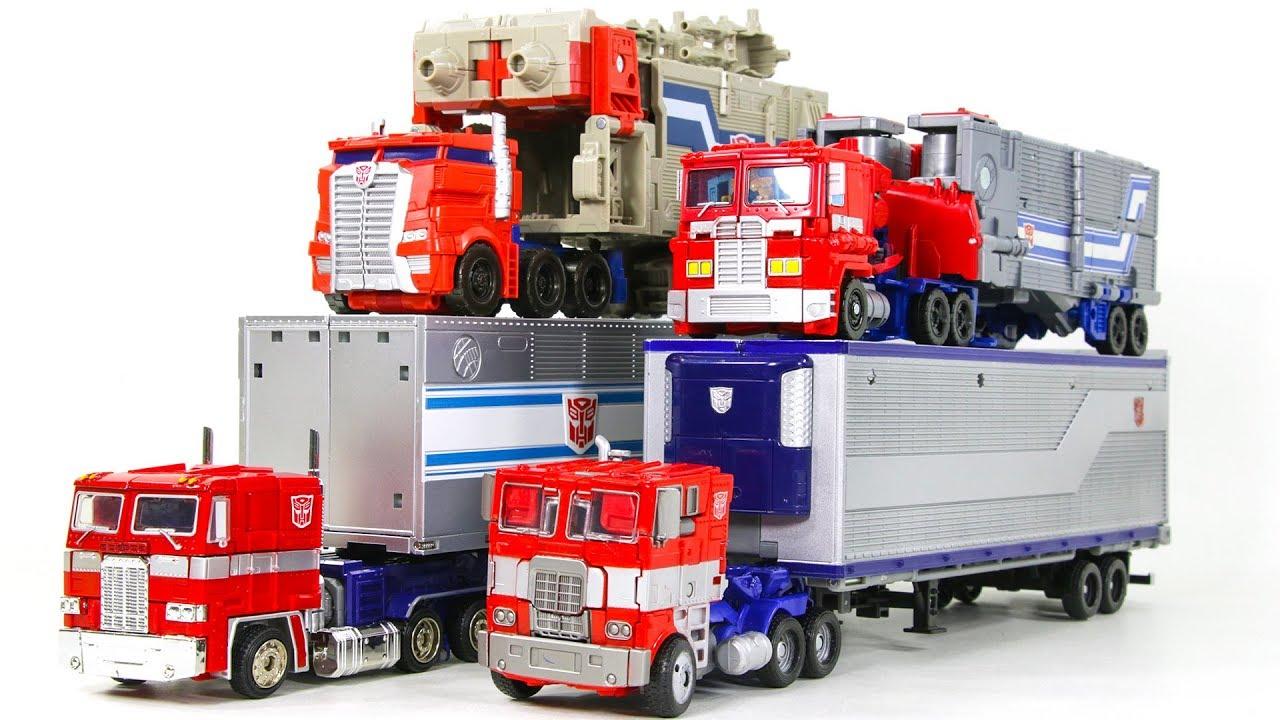 Transformers Movie G1 Tr Potp Trailer Truck Optimus Prime