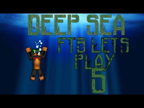 |Feed The Beast| Lets Play Deep Sea #5 Induction Furnace!