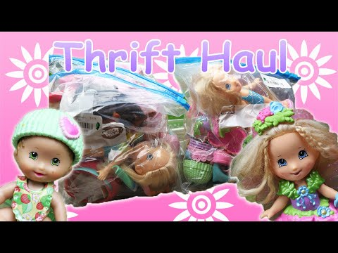 Thrift Haul | Fisher Price 🌺 Swap N Style Dolls