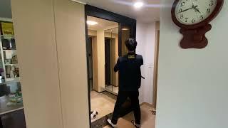 구리 갈매동 스타힐스 아파트 현관 중문 와이즈도어의 3…