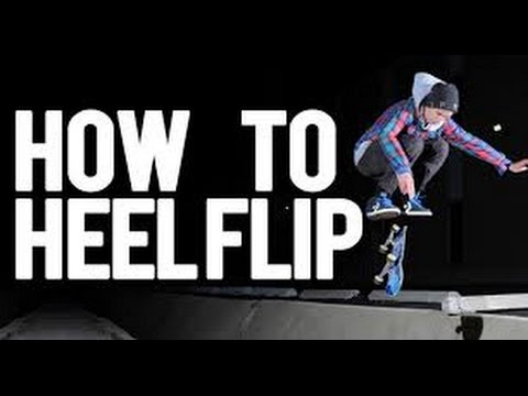 Skateboard Lessons - How To Heelflip