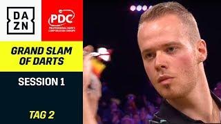 Max Hopp im Duell mit Peter Wright | Grand Slam Of Darts | Highlights | DAZN
