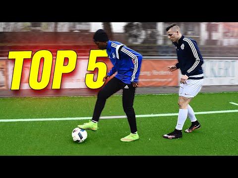 TOP 5 Ingame EURO 2016 Football Skills To Learn - Tutorial
